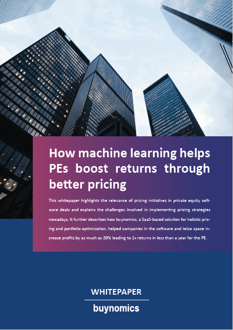 How machine learning helps PEs boost returns through better pricing