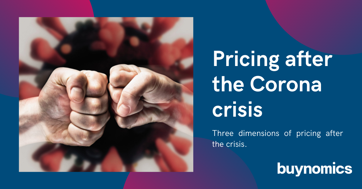 Blog: COVID-19 - Pricing after the Pandemic | buynomics