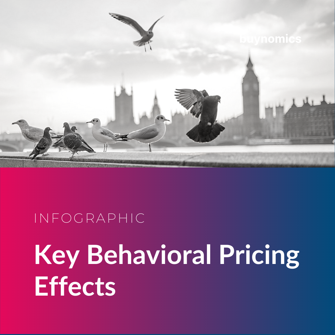 Infographic Key Behavioral Pricing Effects