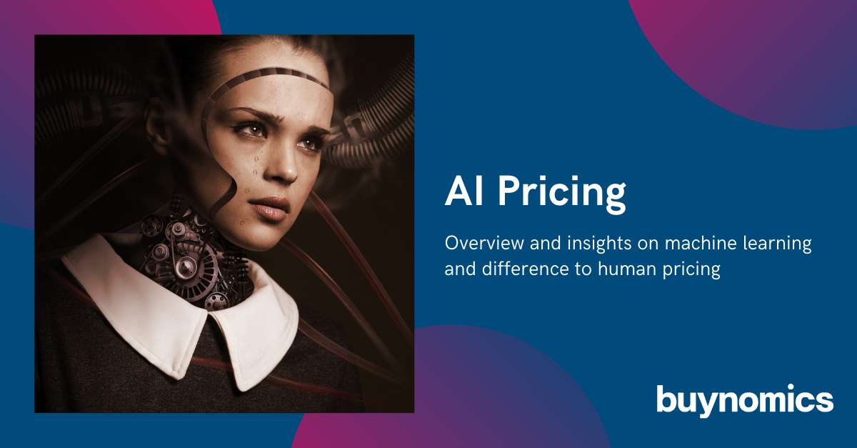 Blog: AI Pricing - Complicated but necessary | buynomics
