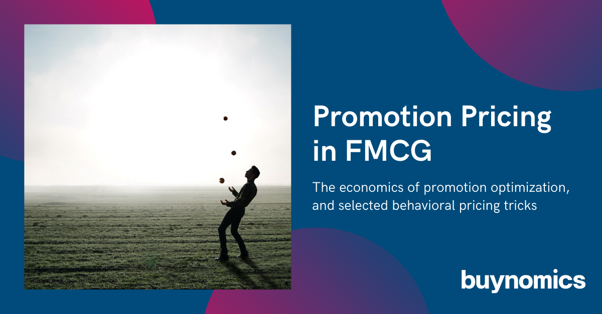 Free Webinar: How to price Promotions in FMCG | buynomics