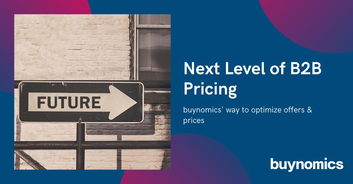 Webinar: The Next Level of B2B Pricing | buynomics