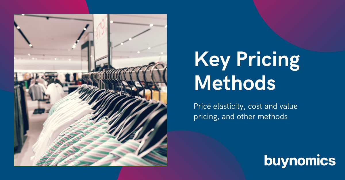 Webinar on Key Pricing Methods and Machine Learning | buynomics