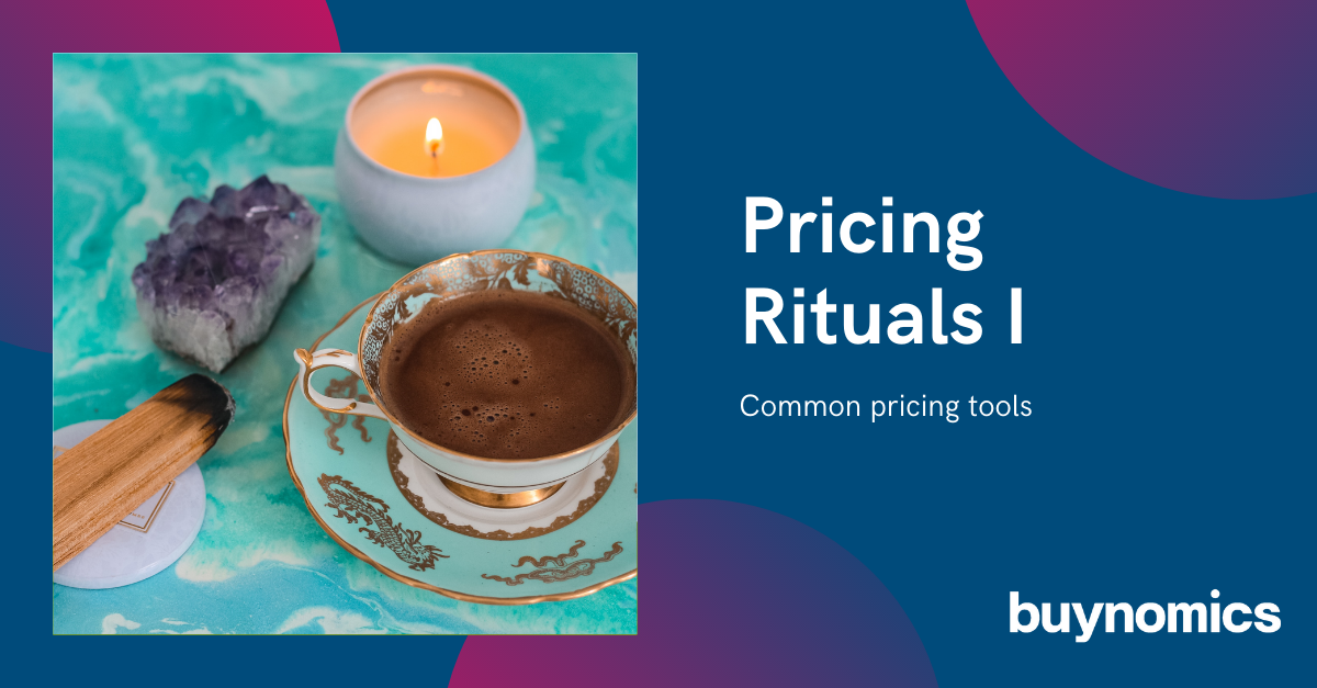 Webinar: Pricing Rituals I - Common pricing tools | buynomics