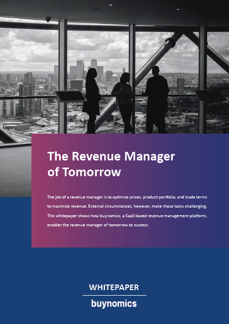The revenue manager of tomorrow