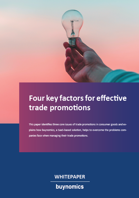 Four key factors for effective trade promotions