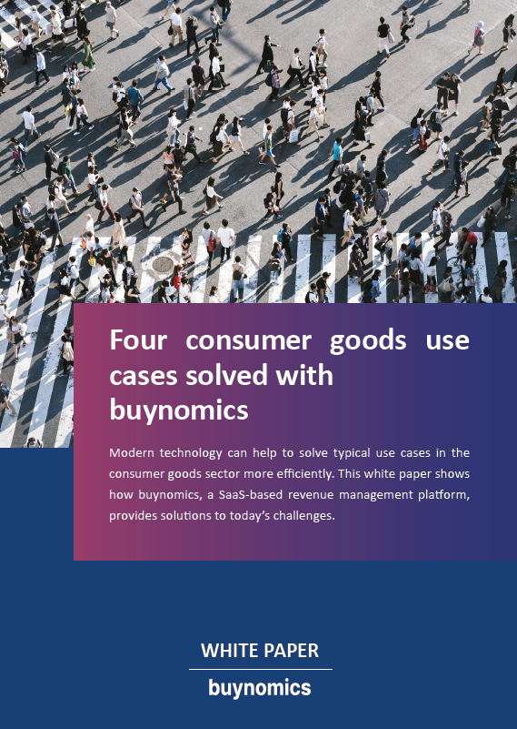 Four consumer goods use cases solved with buynomics
