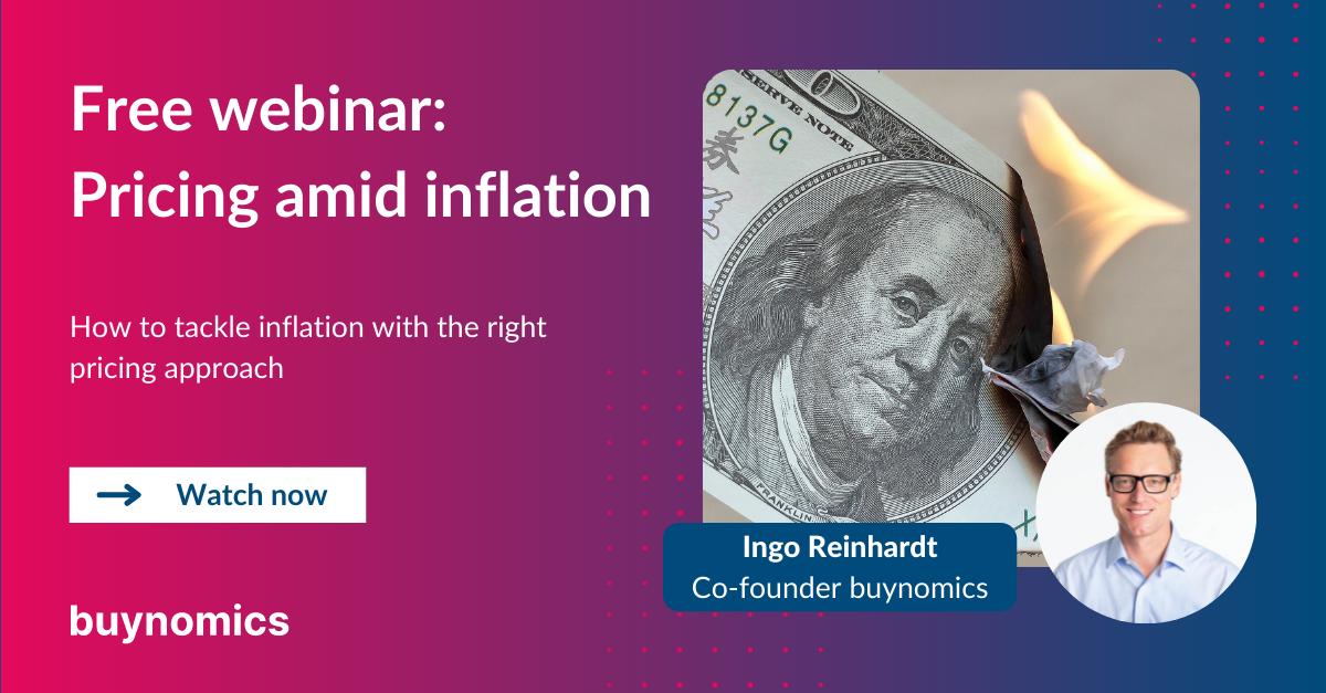 Webinar: Pricing amid Inflation | buynomics