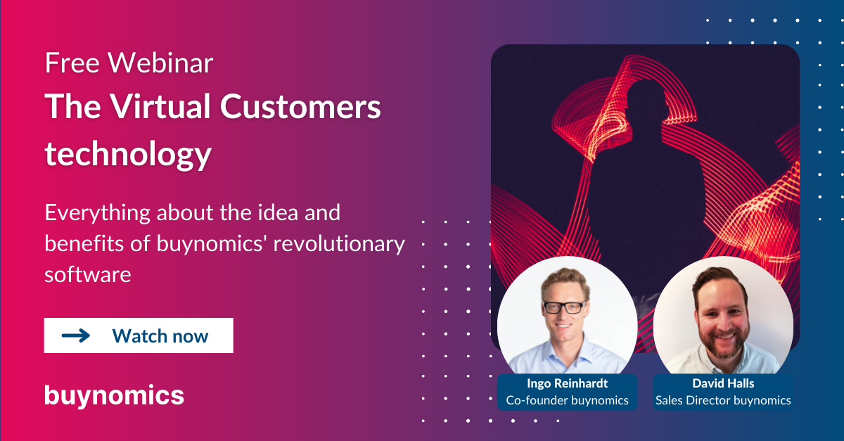 Webinar: The Virtual Customers technology: applications and benefits