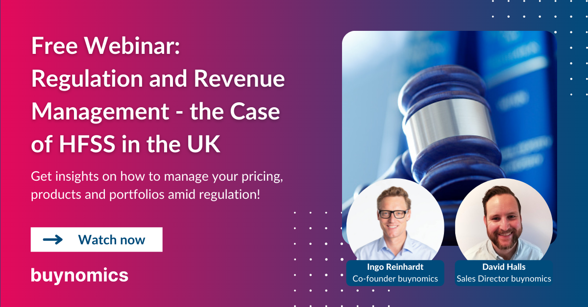 Webinar: Regulation and Revenue Management - HFSS in the UK